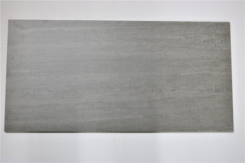 "Image of Woodgrain Porcelain Tile (Grey) 12x24"" - $1.99 SQ FT"