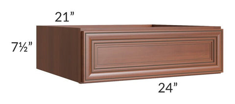 "Phoenix Caramel Glaze 24"" Vanity or Desk Drawer"