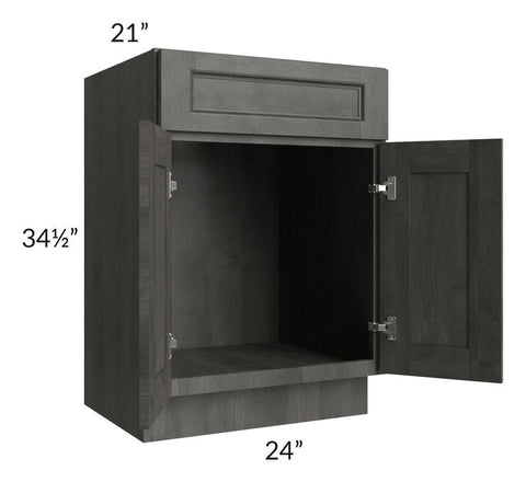 "Providence Natural Grey 24"" Bathroom Vanity"