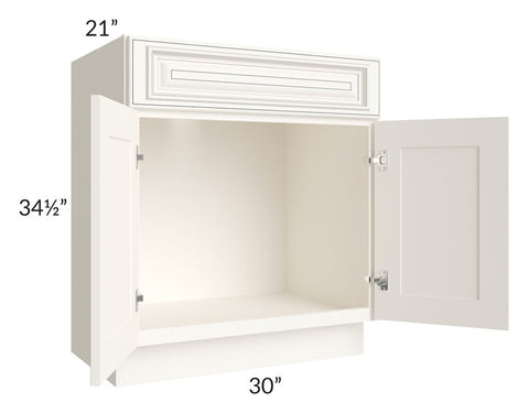 "Signature Vanilla Glaze 30"" Bathroom Vanity"
