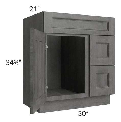 "Providence Slate Grey 30"" Bathroom Vanity"