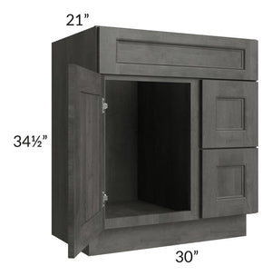 "Providence Natural Grey 30"" Bathroom Vanity"