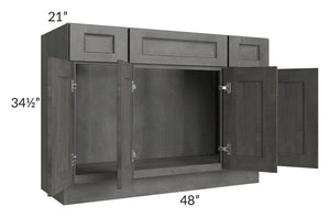 "Providence Slate Grey 48"" Bathroom Vanity"