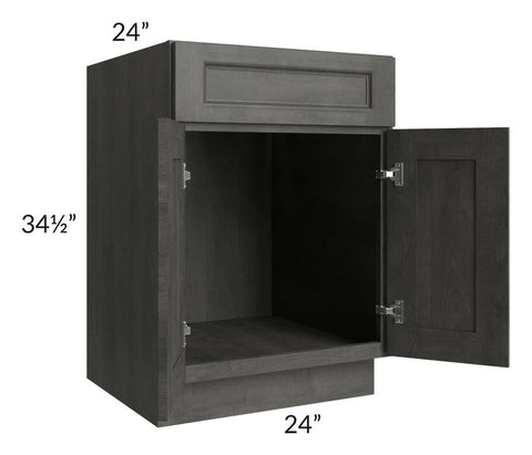 "Providence Natural Grey 24"" Sink Base Cabinet"