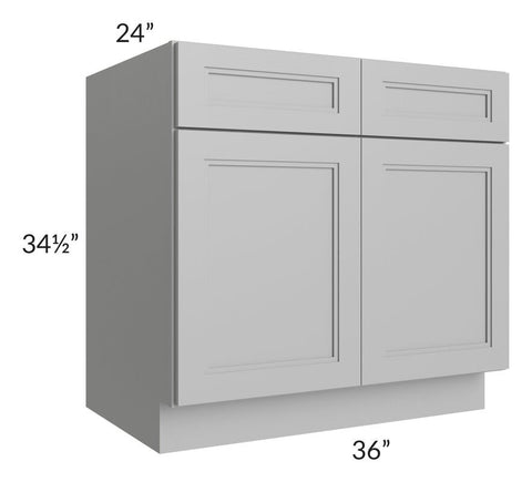 "Charlotte Grey 36"" Sink Base Cabinet"
