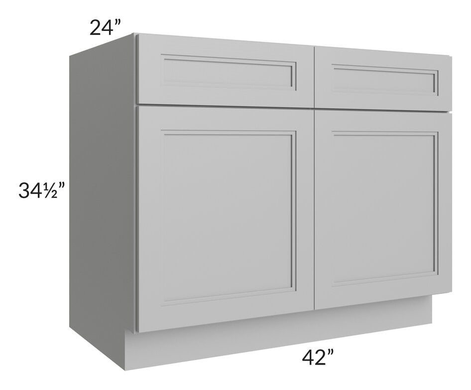 "Charlotte Grey 42"" Sink Base Cabinet"