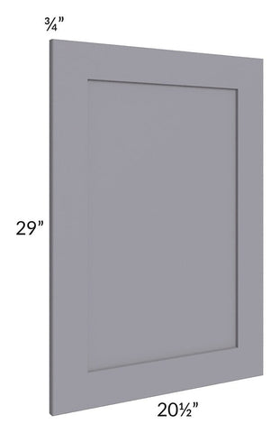 Graphite Grey Shaker Vanity Decorative End Panel