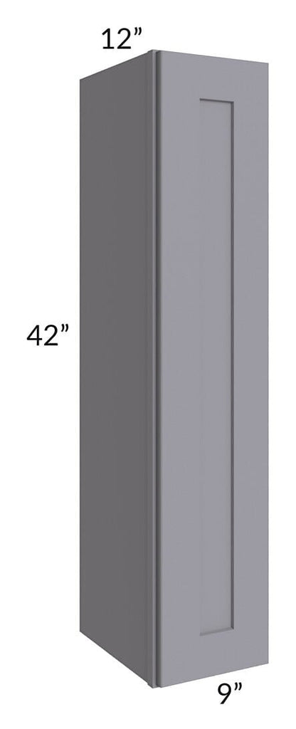 Graphite Grey Shaker 09x42 Wall Cabinet