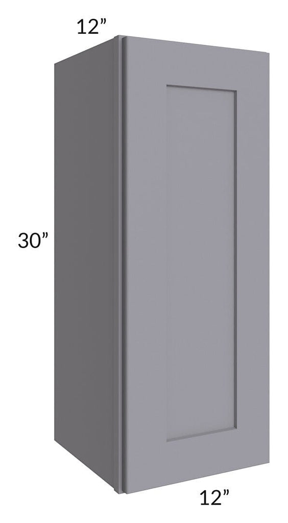 Graphite Grey Shaker 12x30 Wall Cabinet