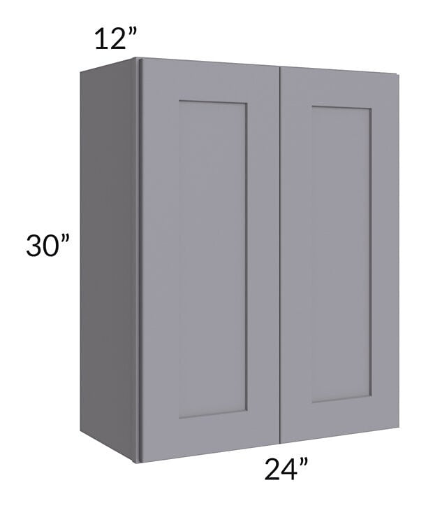Graphite Grey Shaker 24x30 Wall Cabinet