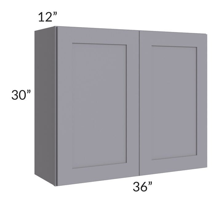 Graphite Grey Shaker 36x30 Wall Cabinet