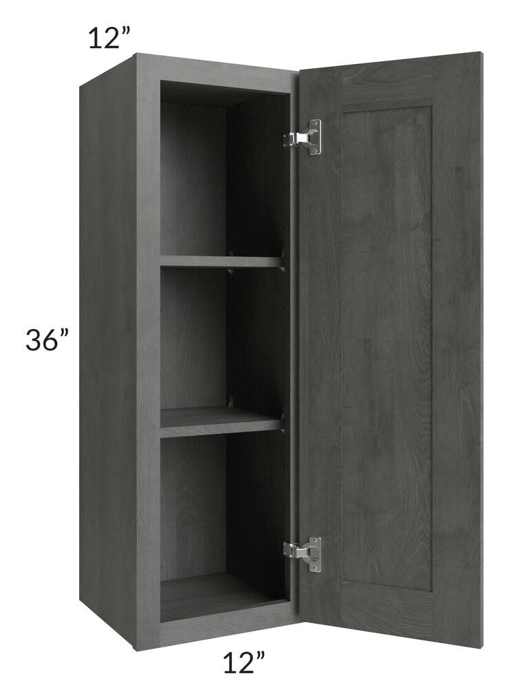 Providence Slate Grey 12x36 Wall Cabinet