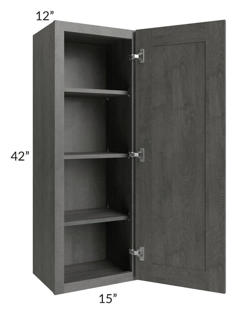 Providence Slate Grey 15x42 Wall Cabinet