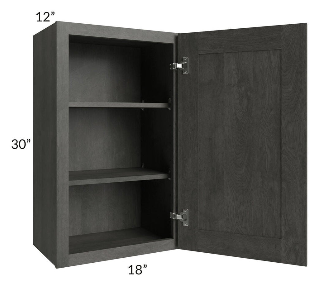 Providence Natural Grey 18x30 Wall Cabinet