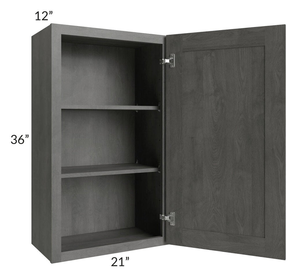 Providence Slate Grey 21x36 Wall Cabinet