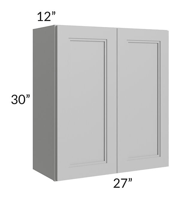 Charlotte Grey 27x30 Wall Cabinet
