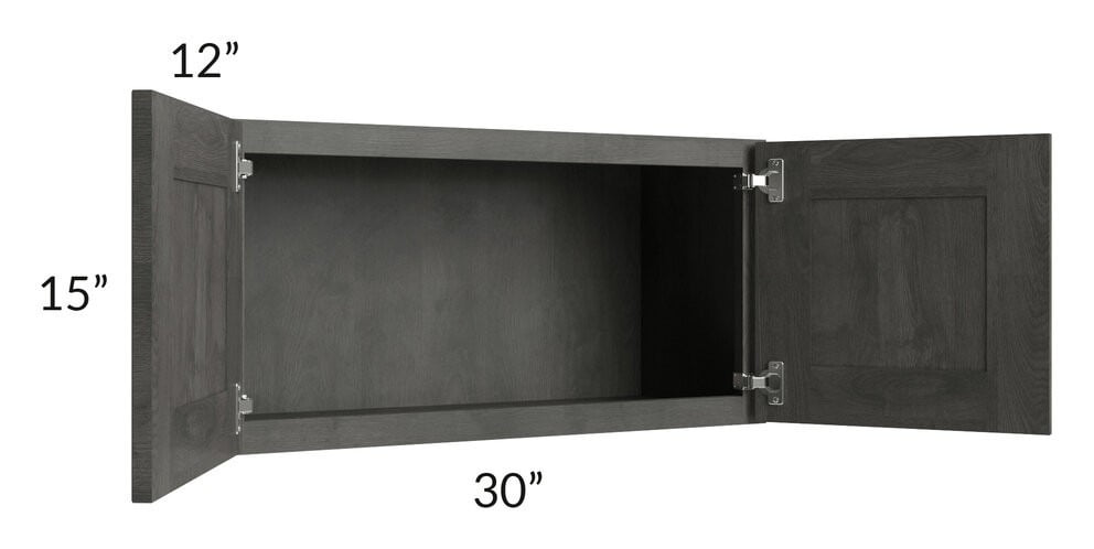 Providence Natural Grey 30x15 Wall Cabinet