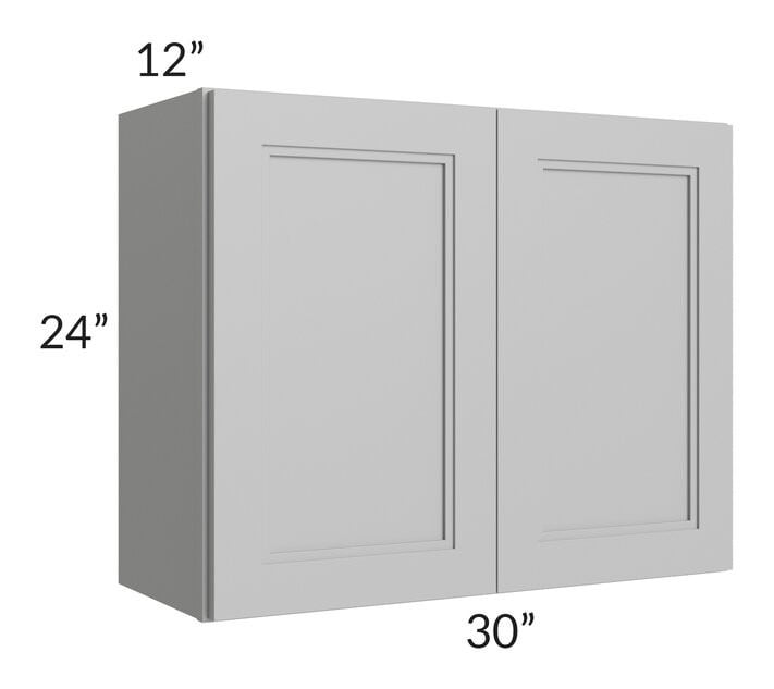 Charlotte Grey 30x24 Wall Cabinet