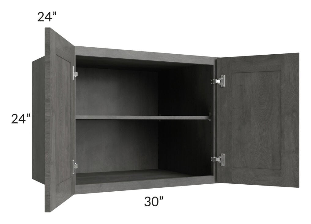 Providence Slate Grey 30x24x24 Wall Cabinet