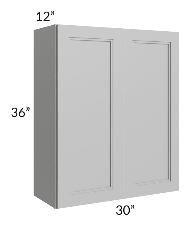 Charlotte Grey 30x36 Wall Cabinet