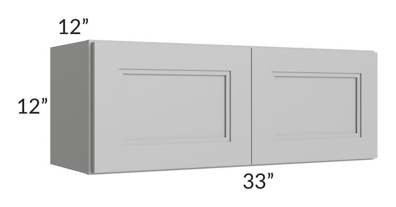 Charlotte Grey 33x12 Wall Cabinet