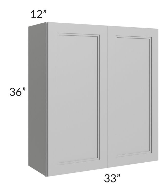 Charlotte Grey 33x36 Wall Cabinet