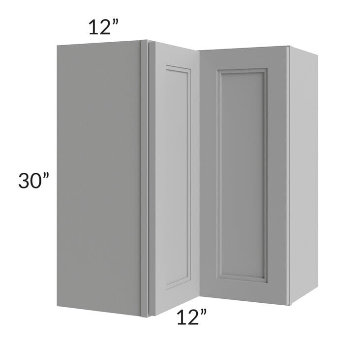 Charlotte Grey 24x30 Easy Reach Corner Wall Cabinet