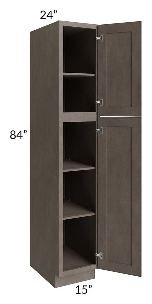Natural Grey Shaker 15x84 Wall Pantry
