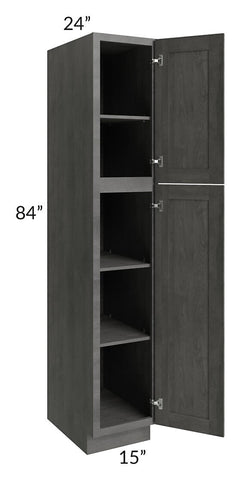 Providence Slate Grey 15x84 Wall Pantry