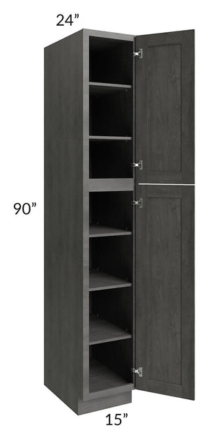Providence Slate Grey 15x90 Wall Pantry