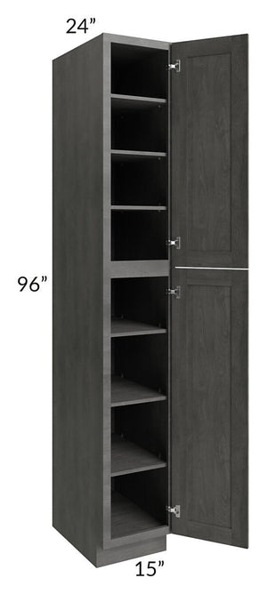 Providence Slate Grey 15x96 Wall Pantry