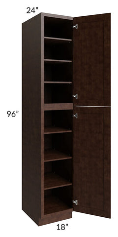 Regency Espresso 18x96 Wall Pantry