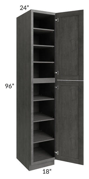 Providence Slate Grey 18x96 Wall Pantry