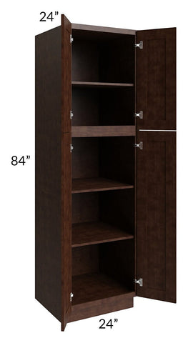 Regency Espresso 24x84 Wall Pantry