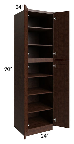 Regency Espresso 24x90 Wall Pantry