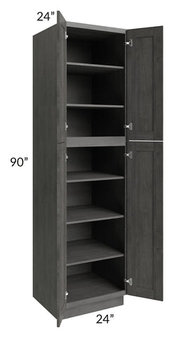 Providence Slate Grey 24x90 Wall Pantry
