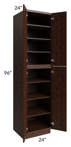 Regency Espresso 24x96 Wall Pantry