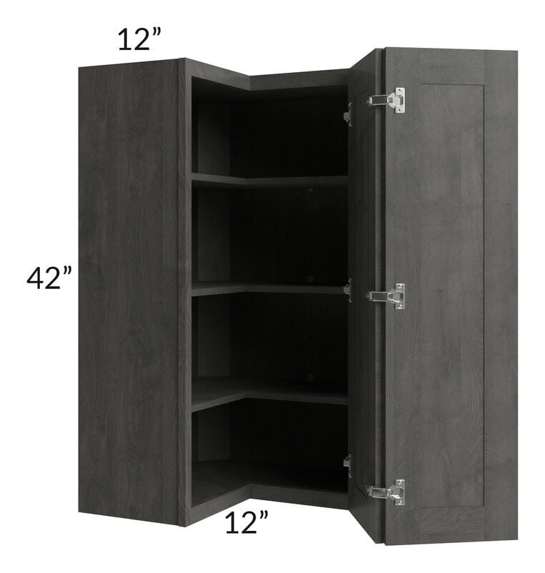 Providence Natural Grey 24x42 Wall Corner Unit