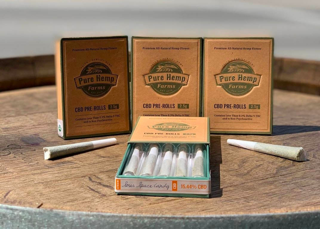 wholesale hemp pre roll packs