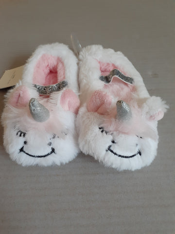 Plush Unicorn Ballet Slippers