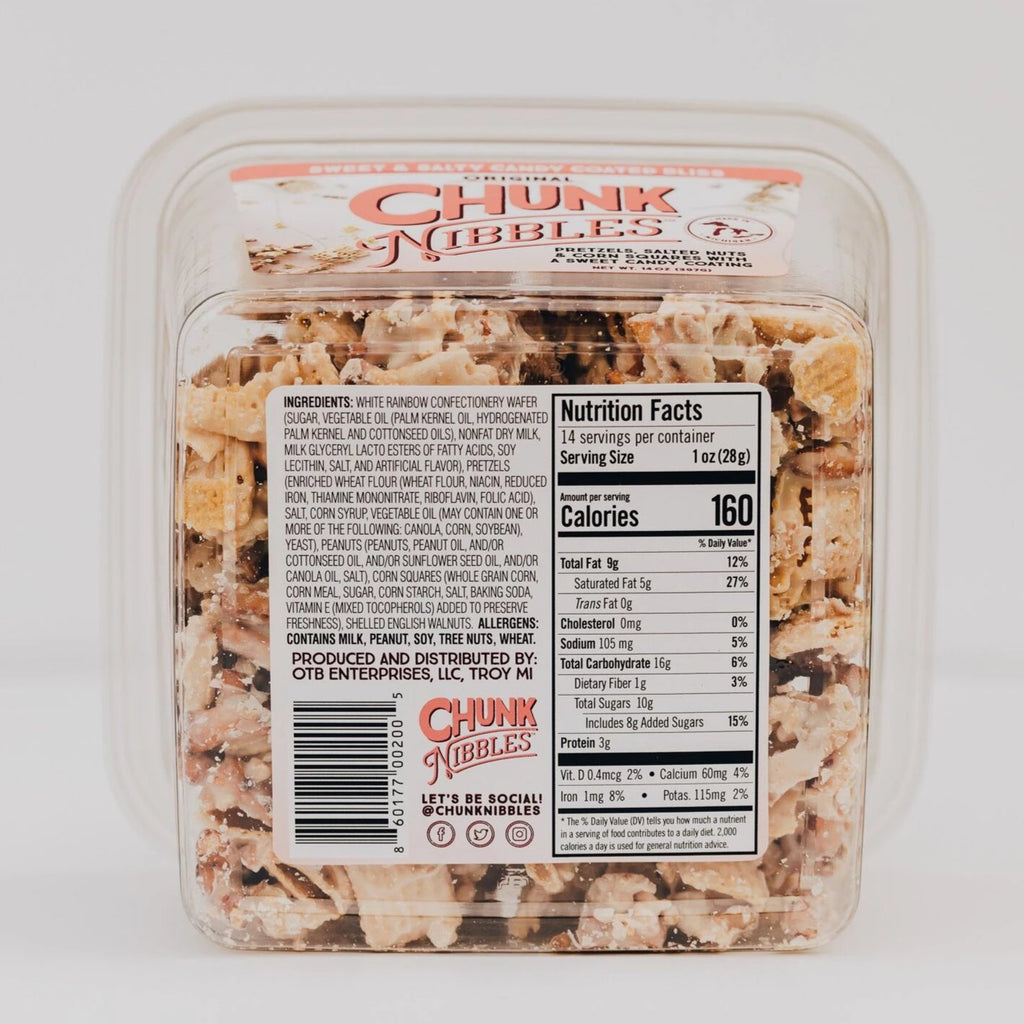 Chunk Nibbles Original 14 OZ Shareable Container