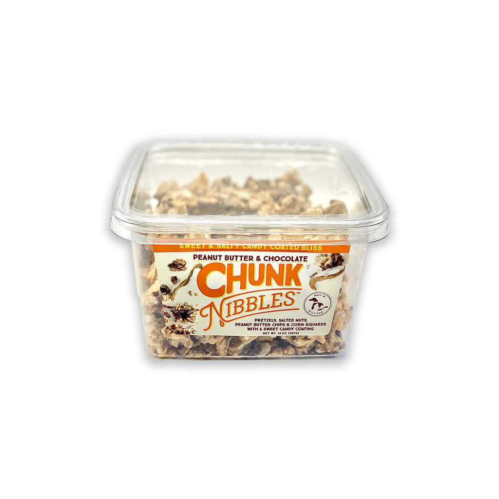 Chunk Nibbles PBC 14 OZ Shareable Container