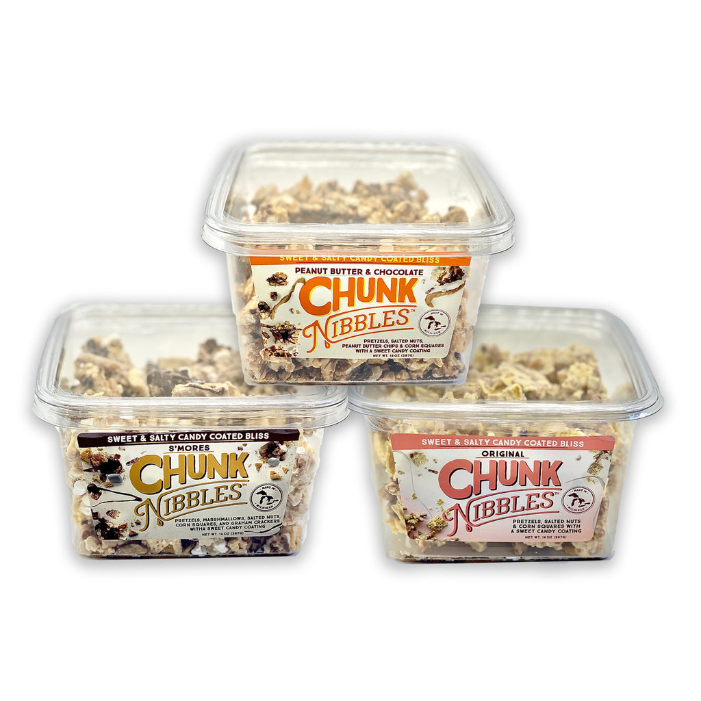 Chunk Nibbles SHAREABLE Variety Pack!