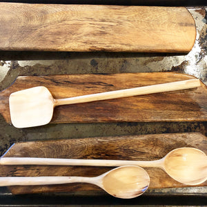 Arbutus hand carved Spoons
