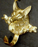 Decorative Fox Head Hook