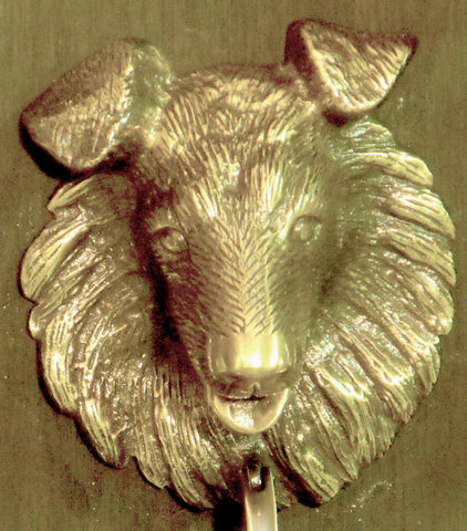 Collie Door Knocker