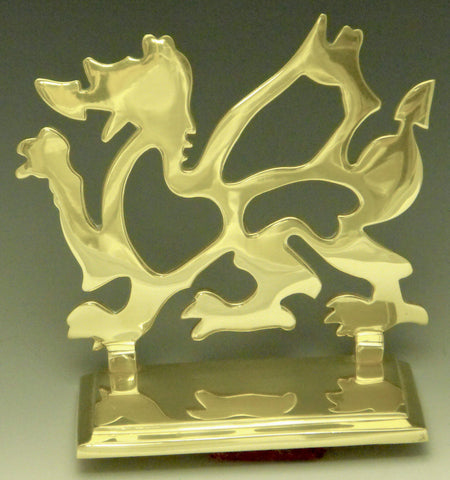 Welsh Dragon Bookends