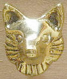 Fox Head Drawer Pull - Small