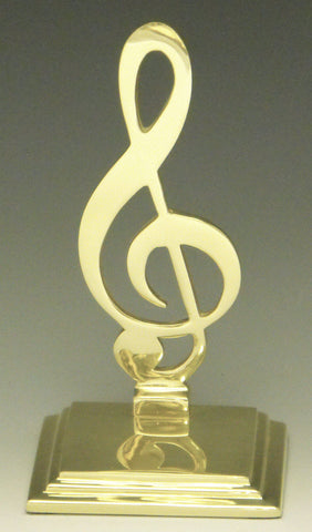 Music Clef Bookends
