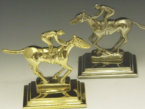 Horse and Rider Bookends